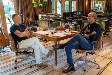 Obama Springsteen Podcast - Credit Rob DeMartin
