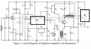 basic telephone circuit diagram basic image wiring basic electronics projects bestengineeringprojects com on basic telephone circuit diagram