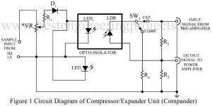 circuit diagram of compressor expander unit