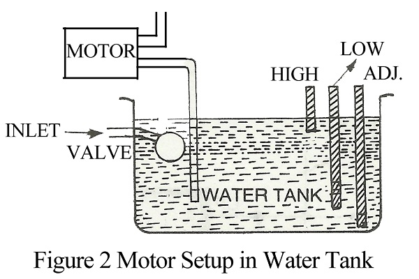 automatic suction tank motor controller