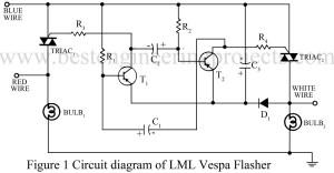 circuit diagram of lml vespa flasher