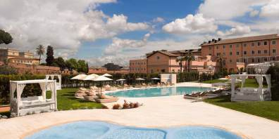 Luxury Hotel With Pool, Gran Melia Rome Villa Agrippina, Prestigious Venues