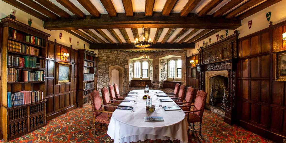 Meeting Venue In A Castle, Thornbury Castle, Prestigious Venues