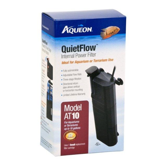 Aqueon QuietFlow Internal Filter AT10   Best Aquarium Filters