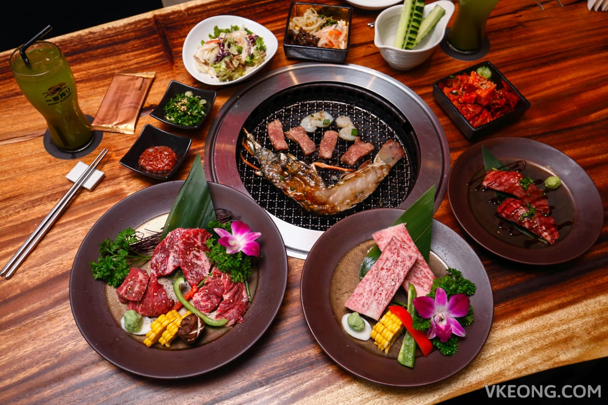 Yakiniku Toraji's Improved Premium Course @ Isetan The Japan Store