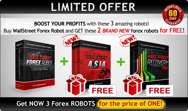 Get NOW WallStreet ASIA and WallStreet Recovery PRO absolutely FREE!