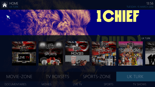 how to set up channel 1 primewire for kodi