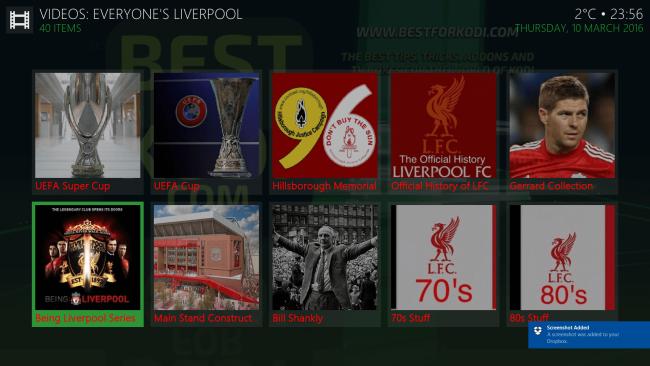 Install Everyone's Liverpool Addon Kodi