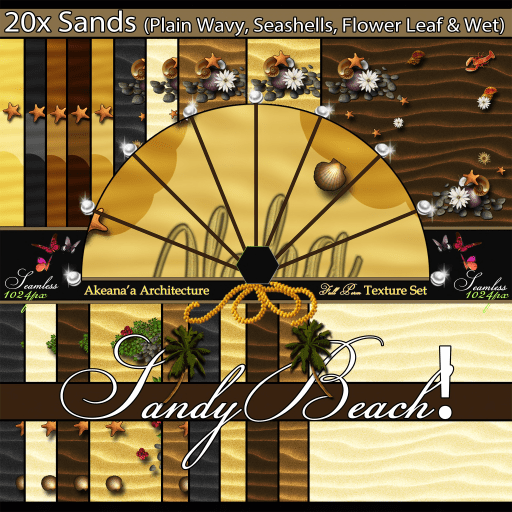 _AA_ 20x Sandy Beach! Seamless Texture Set (IMAGE) Ad)