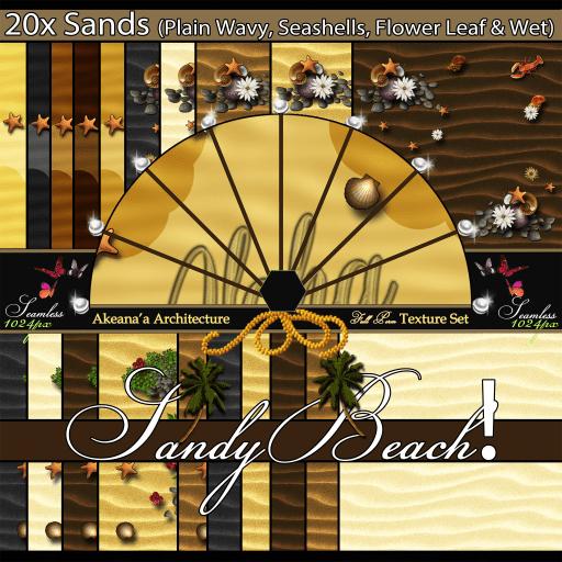 _AA_ 20x Sandy Beach! Seamless Texture Set (IMAGE) Ad)