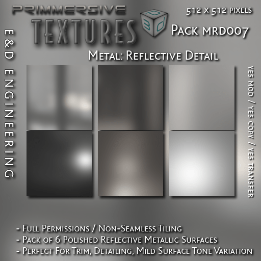 E&D ENGINEERING_ Textures - Metal Reflective Detail MRD007_t