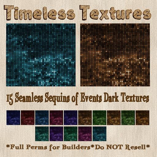 TT 15 Seamless Sequins of Events Dark Timeless Textures