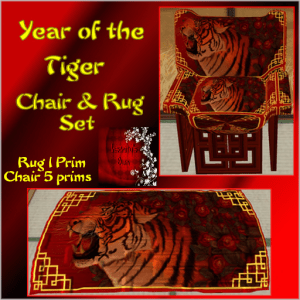 CH 10) ~IO~ Year of the Tiger Set Add