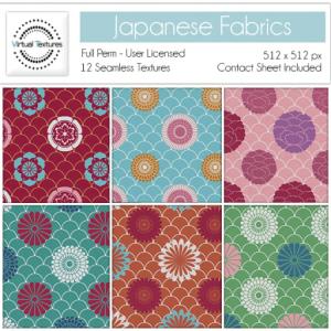 J 01) Japanese Fabrics by Virtual Textures