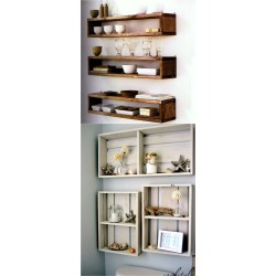 Small Crop Of Hanging Shelves Ideas