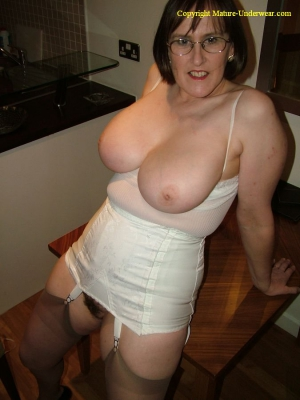 mature girdle mature aunty kathy