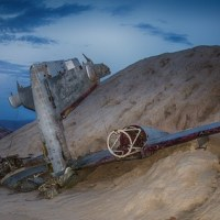 Nelson Ghost Town Plane Wreck by Brett Photography