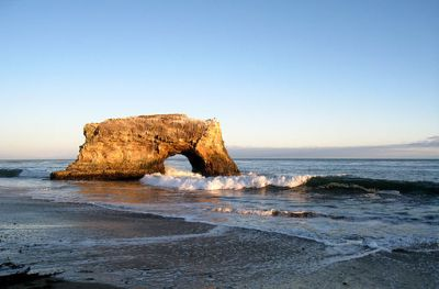 Californian beaches -Santacruz