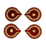 Earthern oil handcrafted Diwali Diyas shine