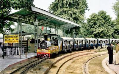 National Rail Museum Chanakyapuri - Fun places for kids in Delhi