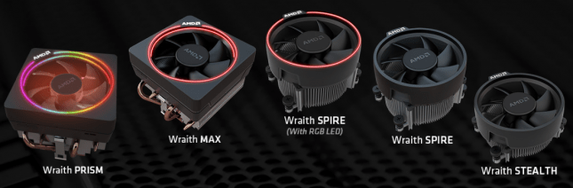 AMD Wraith CPU Coolers