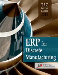 The TEC 2015 ERP Software Buyer's Guide for Discrete Manufacturing sheds light on where manufacturers are formulation to make their record investments.