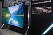Samsung 105-inch bendable SUHD TV TV  Review