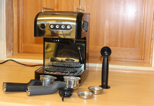 Dualit Espress-Auto 3-in-1 Coffee Machine Coffee Machines  Review