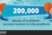FeaturedCustomers Surpasses 200,000 Pieces of Vendor Generated…