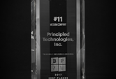 Principled Technologies Ranks in Top 15 of Triangle Business Journal's…