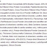 Reflex Diet Protein Ingredients