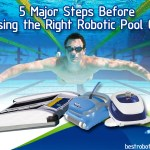 choosing a robotic pool cleaner