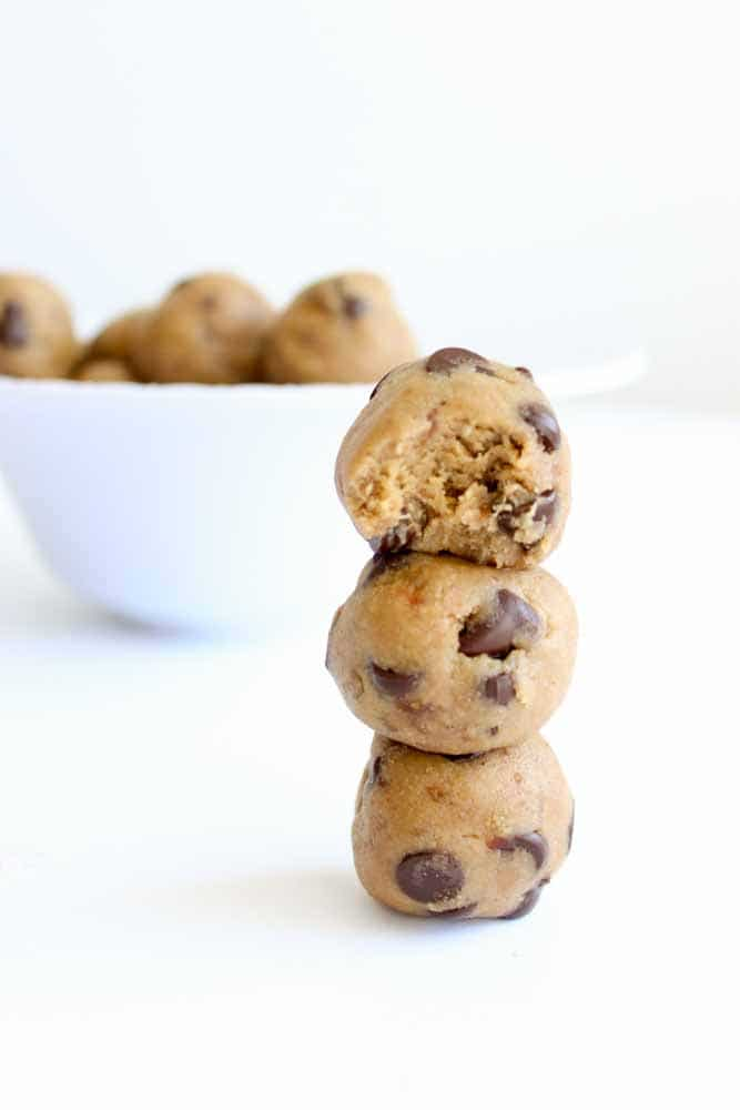 Healthy Cookie Dough Bites | What Molly Made