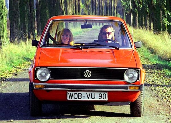 VW Golf Italy 1975