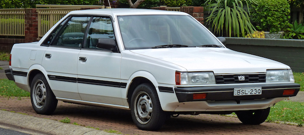 Subaru Leone Australia 1984. Picture courtesy Wikipedia
