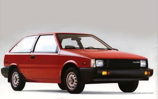 Hyundai Excel USA 1986