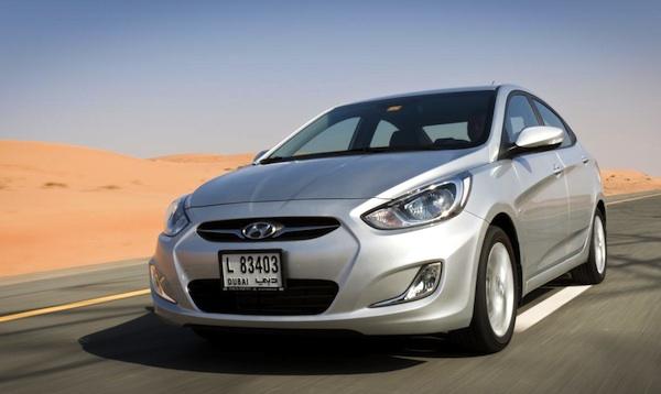 Hyundai Accent Algeria March 2014
