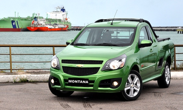 Chevrolet Montana Brazil 2014