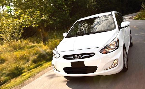 Hyundai Accent Algeria June 2014. Picture courtesy of motortrend.com