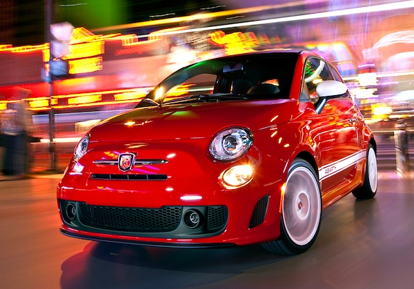 Fiat 500 Abarth Lithuania 2012