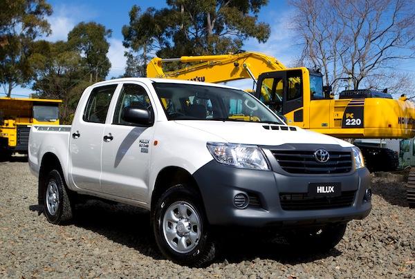 Toyota Hilux Malawi March 2015
