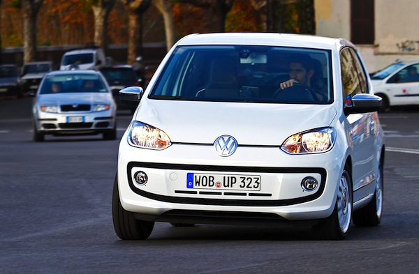 VW Up Denmark September 2014