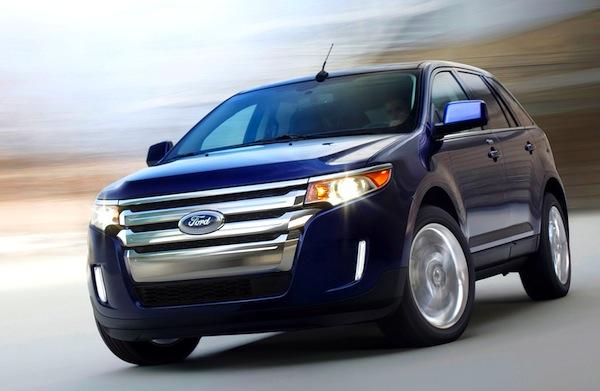 Ford Edge UAE 2012