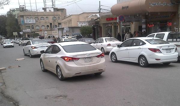 Erbil Iraq street March 2013a