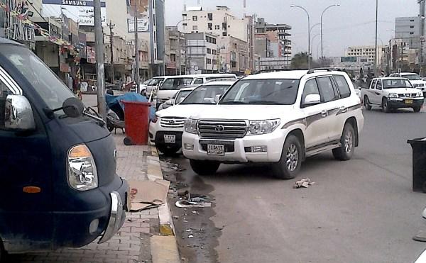 Erbil Iraq street March 2013c