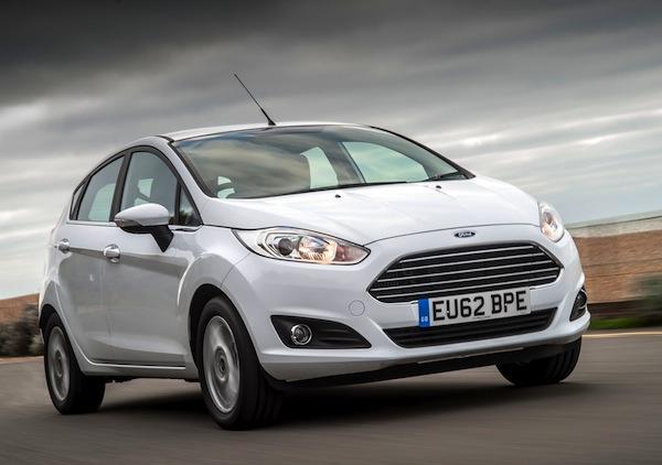 Ford Fiesta UK 2013