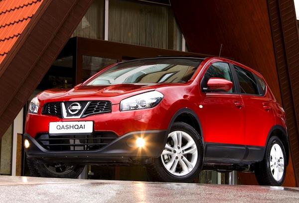 Nissan Qashqai Ireland February 2013