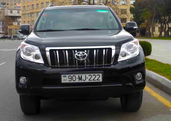 Toyota Land Cruiser Prado Azerbaijan 2012. Picture courtesy of www.motors.az
