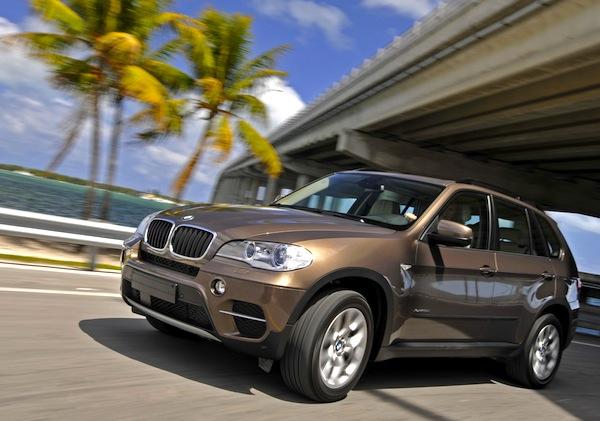BMW X5 UAE February 2013
