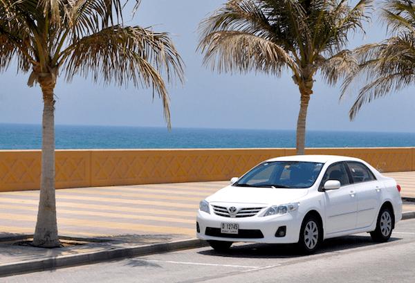 Toyota Corolla GCC January 2013